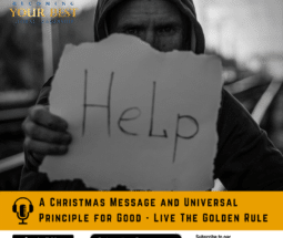 A Christmas Message and Universal Principle for Good - Live The Golden Rule -social media-800x800
