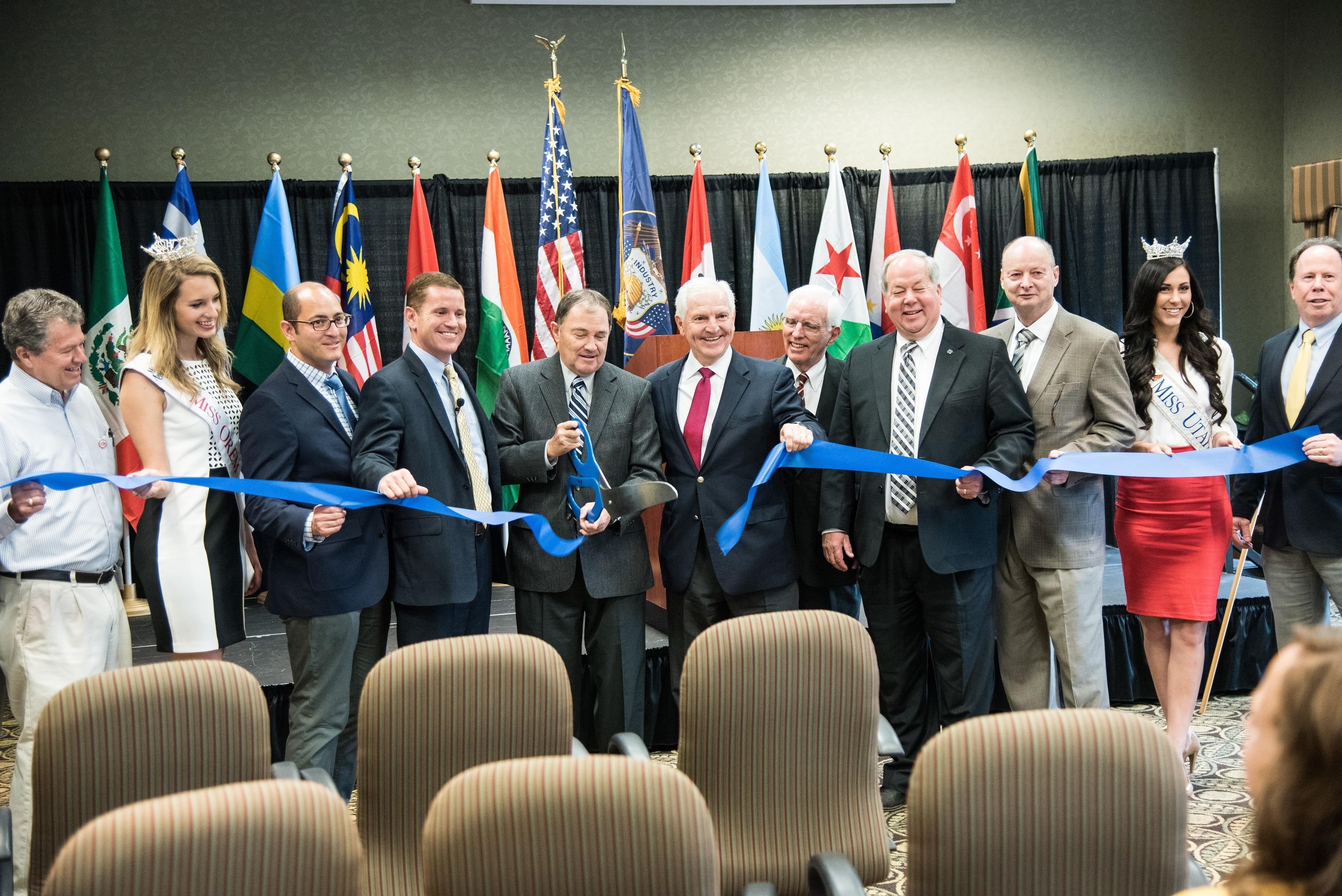 Governor Gary R. Herbert kicks off World Tour of Leadership