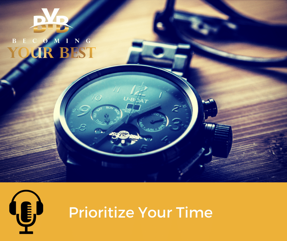 Prioritize Your Time