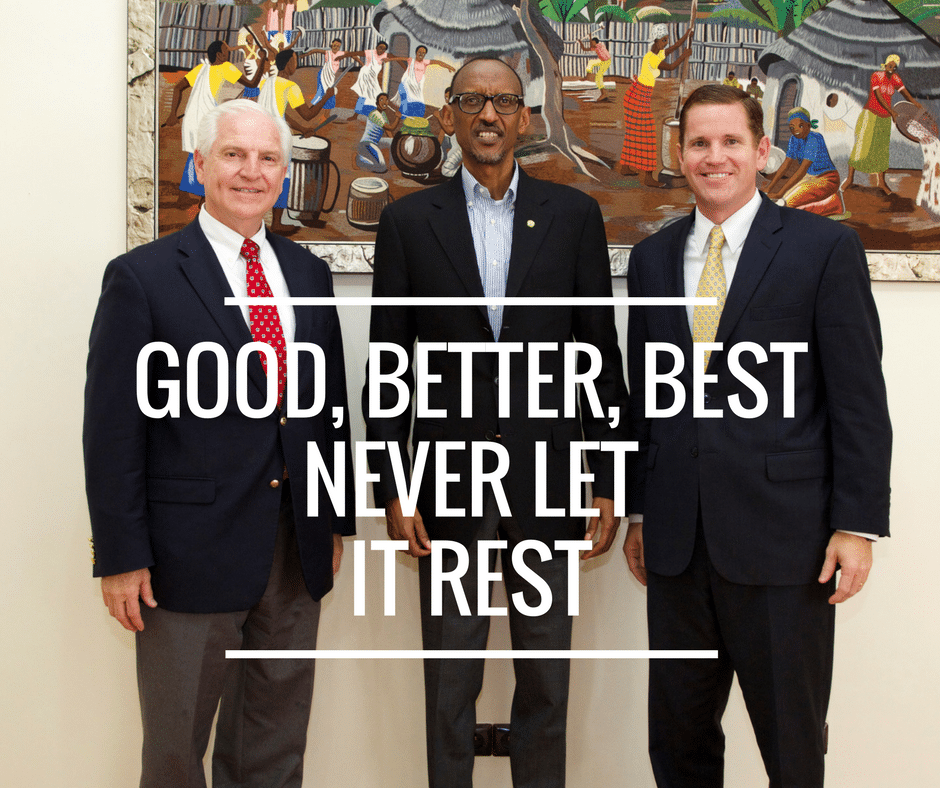 Becoming Your Best Goes to Rwanda