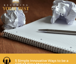 5 Simple Innovative Ways to be a GREAT Time Manager-Social Media-800x800