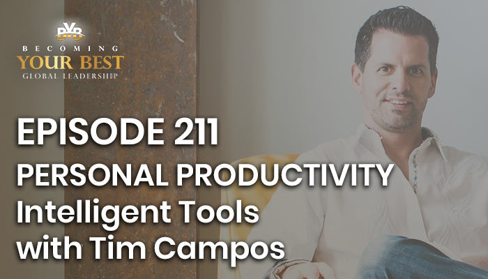 Episode 211 – Tim Campos: Personal Productivity Intelligence Tools
