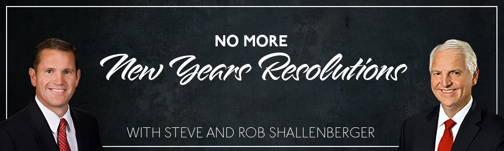 Episode 16: No More New Years Resolutions